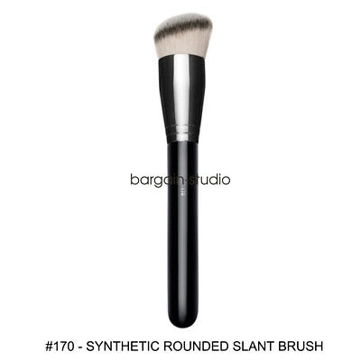 BS Professional Makeup Brushes #170 SYNTHETIC ROUNDED SLANT BRUSH Make Up