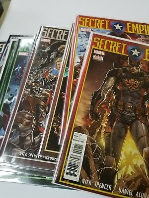 SECRET EMPIRE #0-10 First Printings with FREE SHIPPING Captain America