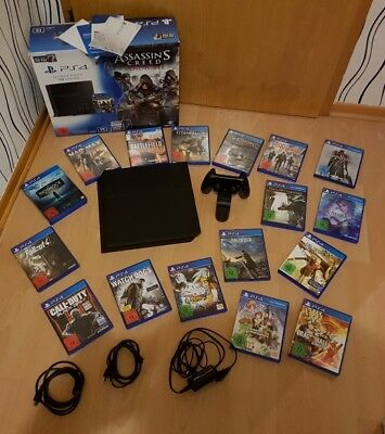 Sony PlayStation 4 Ultimate Player edit 1TB+17 Games Top Zustand Nur noch 1 Tag