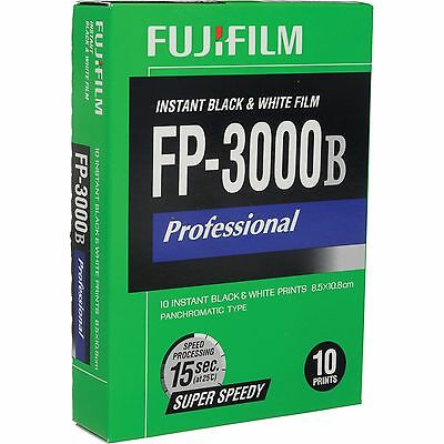 Fujifilm FB-3000B - Black & white instant film ISO 3000 10 sheets #2602643