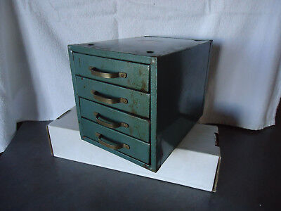 Industrial metal 4 drawers small metal cabinet Wards master quality storage