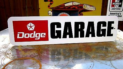 Dodge Garage Sign 1967 Coronet 1968 Charger 1968 Dart 1970 Challenger 1971 Demon