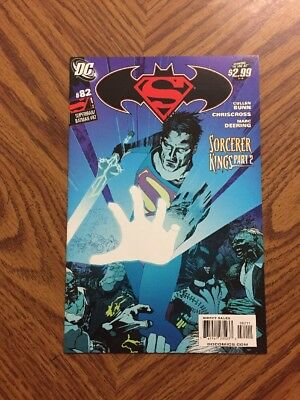 SuperMan / BatMan DC #82 May 2011 Sorcerer Kings Part 2 #ME (Very Good Con)