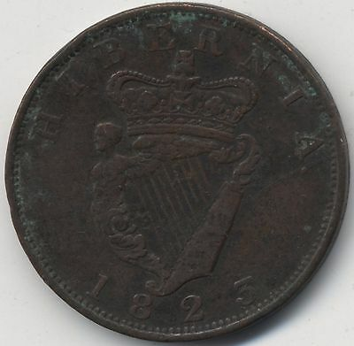 1823 Ireland George IV Penny***Collectors***