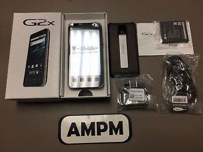 NEW LG G2x P999 8GB Black T-Mobile Only Locked Touch Screen Smartphone Open Box