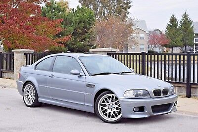 2006 BMW M3 Base Coupe 2-Door 2006 BMW M3 6MT SILVER GRAY/BLK XENON NAV ZCP COMPETITION PACK FINAL YEAR E46 M3