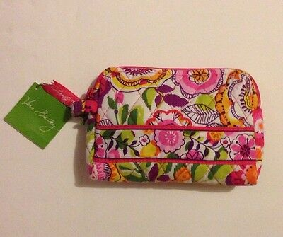 NWT Vera Bradley Travel SMALL Cosmetic Bag In Clementine