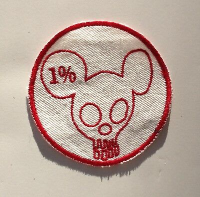 Vintage Motorcycle Club Vest Patch