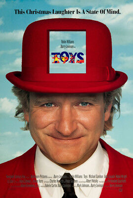 Toys 1992 27x40 Orig Movie Poster FFF-05049 Never Folded Very Fine Robin Will...