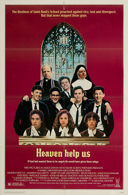 Heaven Help Us 1985 27x41 Orig Movie Poster FFF-04875 Very Fine Donald Suther...