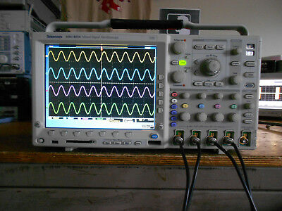 Tektronix MSO4034 350 MHz 2.5GS/s 4 Channel MSO LOADED with OPTIONS!
