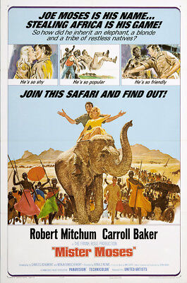 Mister Moses 1965 27x41 Orig Movie Poster FFF-02557 Near Mint, Very Fine