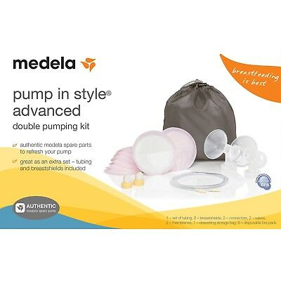 Medela Pump In Style Advanced Double Pumping Kit (New, factory seal)