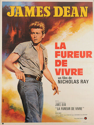 Rebel Without a Cause 1970 47x63 Orig Movie Poster FFF-00709 Rolled Very Fine