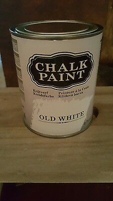 Kreidefarbe Old white  Shabby Chic Möbelfarbe Vintage Antik Möbel Chalk Paint