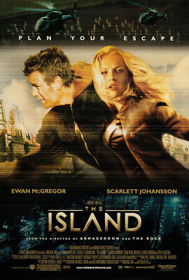 The Island 2005 27x41 Orig Movie Poster FFF-06941 Never Folded Very Fine