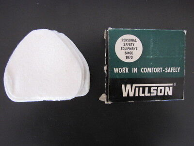 Vintage 1950's Willson Respiratory Filter Replacements # R558 -Lot of 10