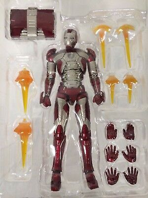 New AUTHENTIC Bandai Tamashii Web S.H Figuarts Iron Man Mark 5 V Action Figure