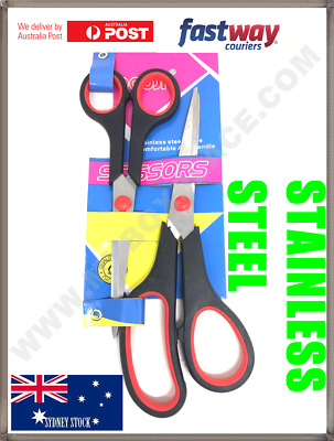 High Quality Stainless Steel Scissors Easy Grip School Office Home Stationery