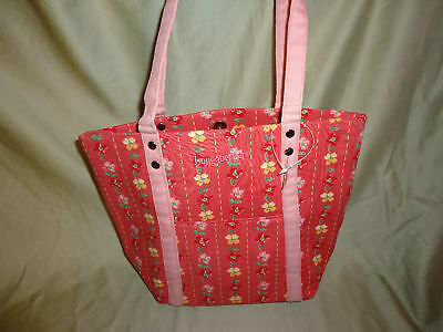 Longaberger Pink Dogwood Floral Tote Purse-NEW--SALE!!!