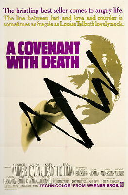 A Covenant With Death 1967 27x41 Orig Movie Poster FFF-02876 Near Mint, Very ...