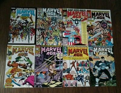 Marvel Age The Official News Magazine ( lot of 21 Issues )
