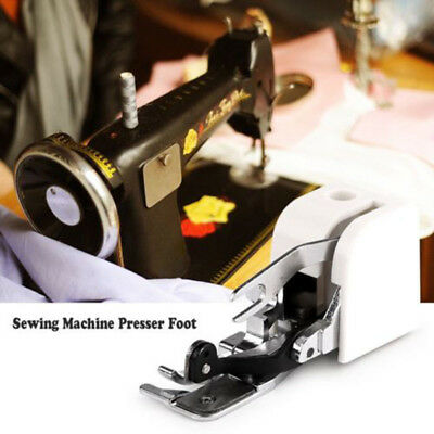 DIY Side Cutter Overlock Sewing Machine Presser Foot Feet For Low Shank Machine