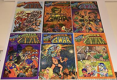 GWAR - Slave Pit Funnies (Issues #2-#7) Rare OOP