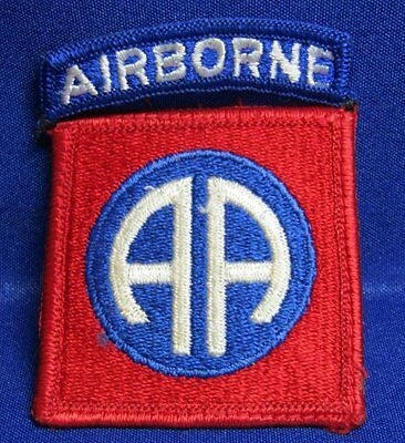 WWII 82nd Airborne Division Patch NO GLOW