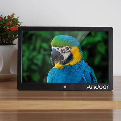 """Andoer 13"""" TFT LED Digital Photo Picture Frame High Resolution Movie Player A7E2"""