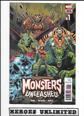 Monsters Unleashed, Nm, Marvel