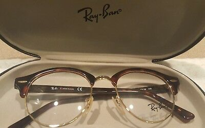 d821522fde9 RAY BAN RB 4246V 2372 Eyeglass Frames RED HAVANA 47 19 140 New ...