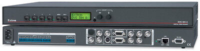 Extron DVS 304-A Digital Video RGBScaler - rack mount size, With audio interface