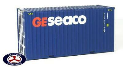 Auscision HO CON-9 20ft Hi-Cube Container GESEACO Large Logo Twin Pack AM10161 B