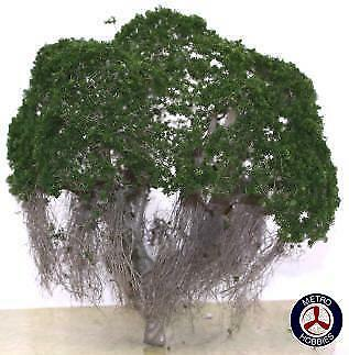 Auscision Australian Tree - Dark Green - 150mm (1 Pack) AM10279 Brand New
