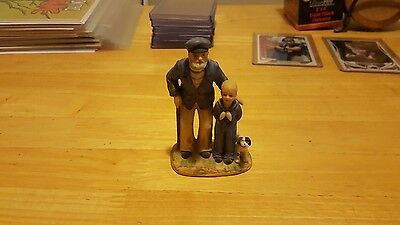 """Looking out to Sea"" by Norman Rockwell figurine 1983"