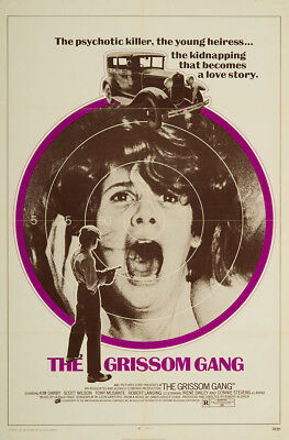 The Grissom Gang 1971 27x41 Orig Movie Poster FFF-06532 Very Fine Kim Darby