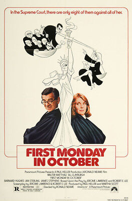 First Monday in October 1981 27x41 Orig Movie Poster FFF-06482 Near Mint