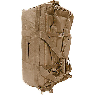 HUMVEE Roller Deployment Bag W/ Shoulder Straps , Bottom protected - stainles...