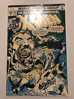 X-Men #94 MARVEL 1975 - 2nd App(s) of Colossus & Storm - 3rd App of Wolverine!!!