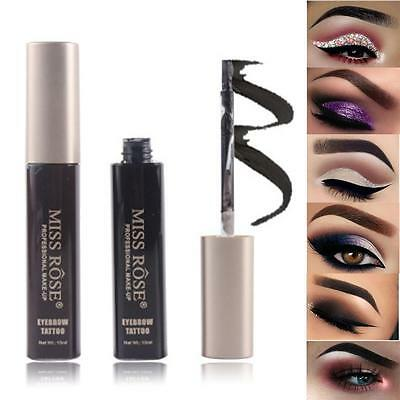 maquillage sourcil Tatoo Peinture Gel Naturel Noir Marron Rehausseur coloration