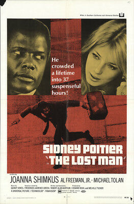 The Lost Man 1969 27x41 Orig Movie Poster FFF-16942 Fine, Very Good