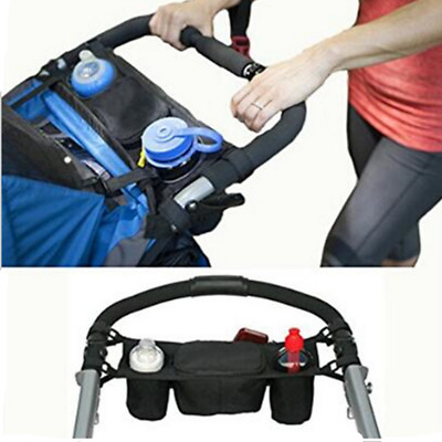 Baby Stroller Organizer Multifunctional Pushchair Bag Large Capacity Hanging Bag