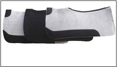 """Felt Western Saddle Pad Stock & Half Breed 32""""x32"""" 22mm thick approximate size"""