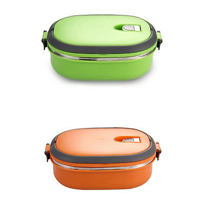 High Quality Insulated Lunch Box Food Storage Container Thermo Thermal Gree O4N1