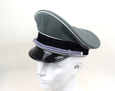 Replica WW2 German Whipcord  Military Elite Officer Hat Cap