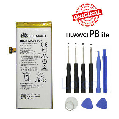New Original Huawei Battery HB3742A0EZC+ For Honor P8 Lite Replacement 2200mAh