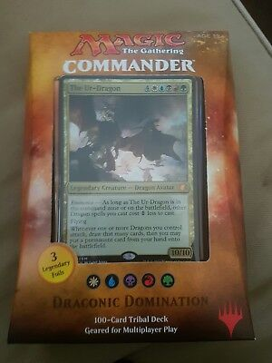 Magic The Gathering: Commander 2017 Deck - Draconic Domination
