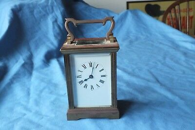 Antique  French Carriage Clock With Platform Escapement