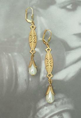 Art Deco Art Nouveau Edwardian Victorian Earings Bridal  Jewellery